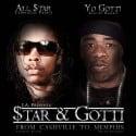 All Star & Yo Gotti - From Cashville To Memphis mixtape cover art