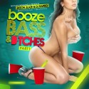 Booze, Bass & Bitches mixtape cover art