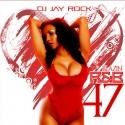 Blazin R&B 47 mixtape cover art