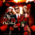 Blazin' R&B 14 (Valentine's Day Edition) mixtape cover art