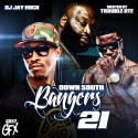 Down South Bangers 21 (Hosted By Trouble) mixtape cover art