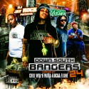 Down South Bangers 24 (Hosted By Chill Will & Waka Flocka) mixtape cover art