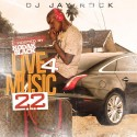Live 4 Music 22 (Hosted By Kodak Black) mixtape cover art