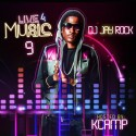 Live 4 Music 9 (Hosted By K Camp) mixtape cover art