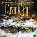 LB On Da Track - Crack Pot mixtape cover art