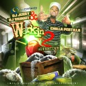 Chilla Pertilla - Werkin 2 mixtape cover art