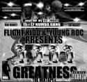 Flight Kidd & Young Roc - Greatness mixtape cover art