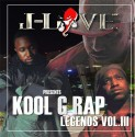 Kool G Rap - Rap Legends Vol. 3 mixtape cover art