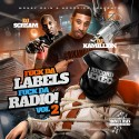 F*ck Da Labels, F*ck Da Radio 2 mixtape cover art