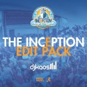 The Inception Edit Pack mixtape cover art
