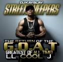 LL Cool J - The Return Of The G.O.A.T. mixtape cover art