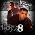 Trey Songz & Drake - Corna Boyz 8 mixtape cover art