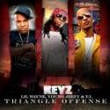 Lil Wayne, Young Jeezy & T.I. - Triangle Offense, Vol. 7 mixtape cover art