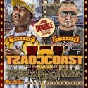 Coast 2 Coast, Vol. 4 (Hosted by Budagee) mixtape cover art
