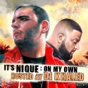 It's Nique - On My Own mixtape cover art