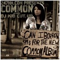 Common - Can I Borrow 99 Cents For The New Common Album? mixtape cover art