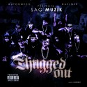 Ayoomeco & AV Presents Thugged Out mixtape cover art