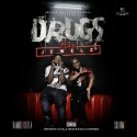 Rambo K Kutta & Squirm G - Drugz-N-Jewelz mixtape cover art