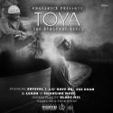 Blacc Mel - Toya (The Burgundy Blues) mixtape cover art