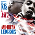 Nas & Jay-Z - American Legends mixtape cover art