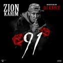 Zion Karim - 91 mixtape cover art