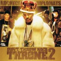 Diplomats - Don't Throw Rocs At The Throne 2 mixtape cover art