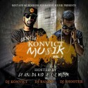 Konvict Muzik mixtape cover art