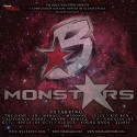 Black Wallstreet Monstars mixtape cover art