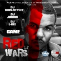 Game - Red Wars LP mixtape cover art