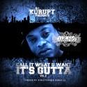 BluNote - Call It What U Want (It's Gutta 2) mixtape cover art