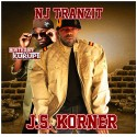 J.S. Korner - NJ Tranzit mixtape cover art
