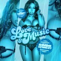 Love & Music (Hosted By Kimmi Kennedy) mixtape cover art