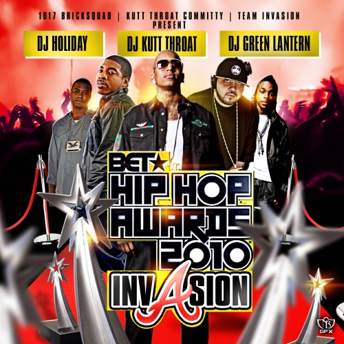 BET Hip Hop Awards 2010 Invasion Mixtape