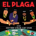El Plaga mixtape cover art
