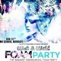 Wet 'N Wild Foam Party mixtape cover art