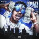 Dope Mix 204 mixtape cover art