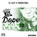 Dope Mix 58 mixtape cover art