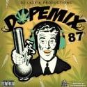 Dope Mix 87 mixtape cover art