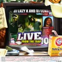 Live From The Trap 10 (Hosted By Frenchie) mixtape cover art