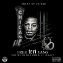 Drake Of Chiraq - Free Teri Gang mixtape cover art