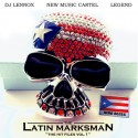 Nino Bless - The Latin Marksman mixtape cover art
