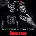 B Real - The Medication mixtape cover art