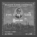 Ali Vegas - Black Card Council mixtape cover art