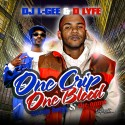 Snoop Dogg & The Game - One Crip, One Blood mixtape cover art