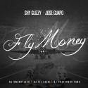Jose Guapo & Shy Glizzy - Fly Money mixtape cover art