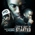 Let's Get It Started (Tha Street Soundtrack) mixtape cover art