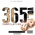 Lil Zaza - 365 Compliation mixtape cover art
