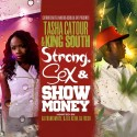Tasha Catour & King South - Strong, Sex N Show Money mixtape cover art