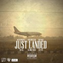 Just Landed mixtape cover art