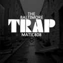 The Baltimore Trap mixtape cover art